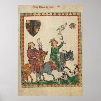 Codex one-eats - king Konrad the boy Poster