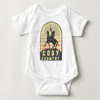 Cody Country Wyoming Baby Bodysuit