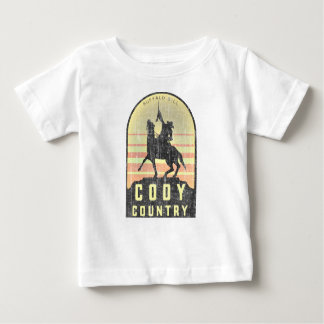 Cody Country Wyoming Baby T-Shirt