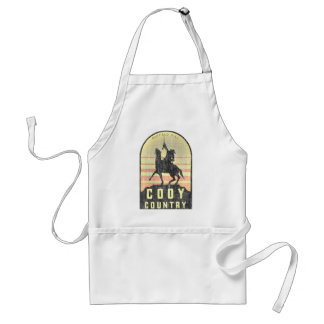 Cody Country Wyoming Standard Apron