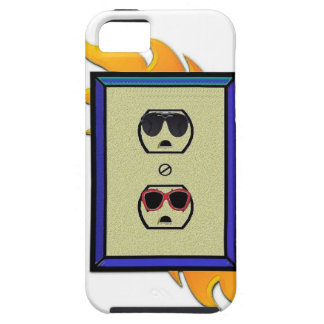 coed electric outlet iPhone 5 cover