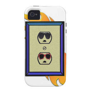coed electric outlet Case-Mate iPhone 4 covers
