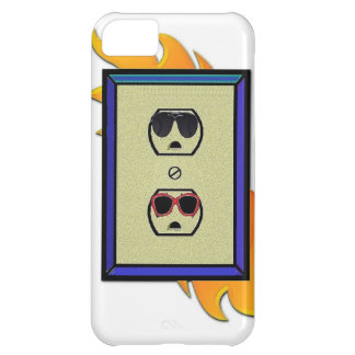 coed electric outlet case for iPhone 5C