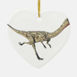 Coelophysis Dinosaur in Profile Ceramic Ornament