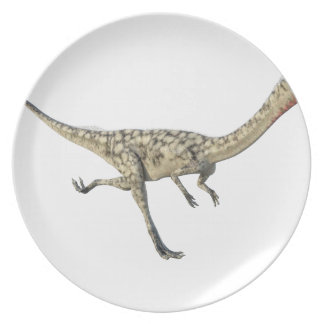 Coelophysis Dinosaur in Profile Plate
