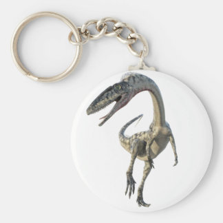 Coelophysis Dinosaur Runiing to the Front Key Ring