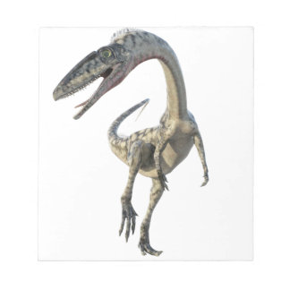 Coelophysis Dinosaur Runiing to the Front Notepad