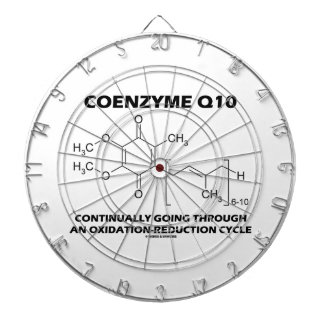 Coenzyme Q10 Continually Oxidation-Reduction Cycle Dartboards