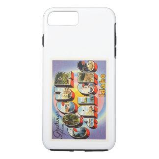 Coeur d'Alene Idaho ID Old Vintage Travel Souvenir iPhone 8 Plus/7 Plus Case
