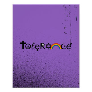 COEXIST WITH TOLERANCE - png Posters