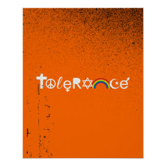 COEXIST WITH TOLERANCE PRINT