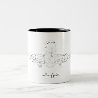 Coffe mug of Pilot - Sea 2010