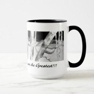 Coffe Mug: Original Silk  Painting By Kim Sellon Mug