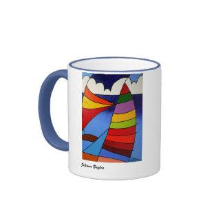Coffe Mug Sail Boat- Mug Boat to the Candle