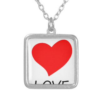coffee14 silver plated necklace