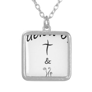 coffee16 silver plated necklace
