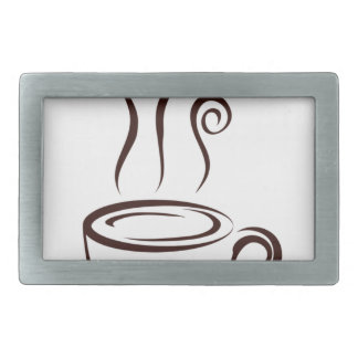 coffee8 rectangular belt buckles