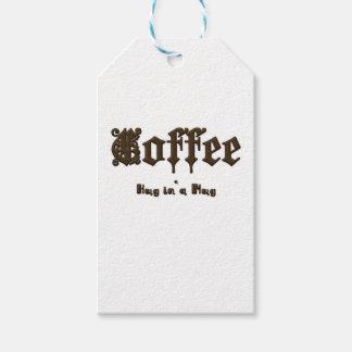 Coffee - a Hug in a Mug    Gothic Gift Tags