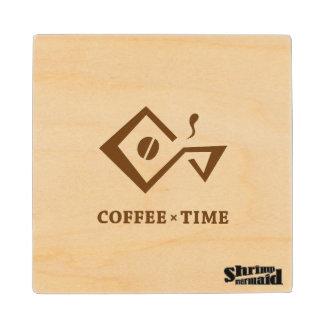 COFFEE × TIME coaster
