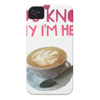 Coffee AA Anonymous Drunk Fellowship iPhone 4 Case