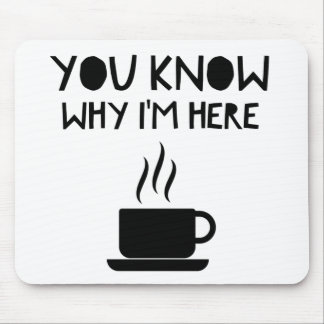 Coffee AA Anonymous Drunk Fellowship Mouse Pad