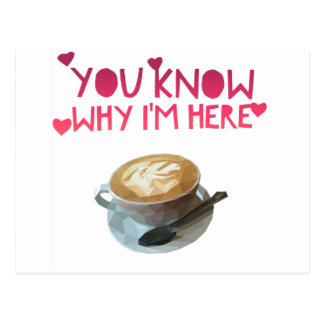 Coffee AA Anonymous Drunk Fellowship Postcard