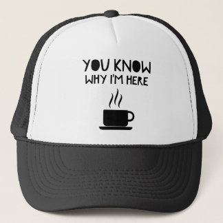 Coffee AA Anonymous Drunk Fellowship Trucker Hat