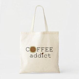 Coffee Addict Budget Tote Bag