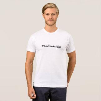 Coffee addict text T-Shirt