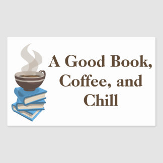 Coffee and Books Bumper Sticker