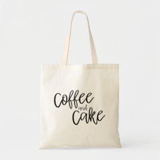 Coffee and Cake Tote Bag