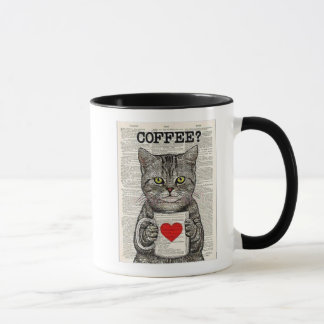 Coffee and cats make the purr-fect blend. mug