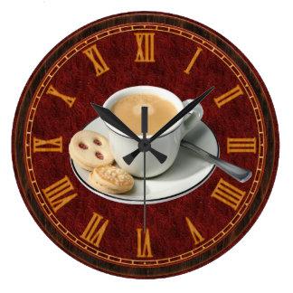 Coffee Wall Clocks Zazzle Com Au