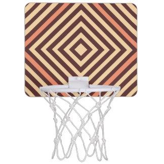 Coffee and Cream Mini Basketball Hoop