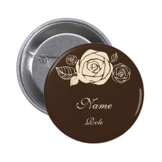 Coffee and Cream Roses Coordinating Gifts Pin
