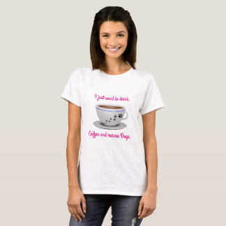 Coffee and Dogs tee. T-Shirt