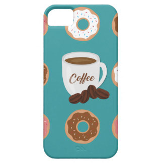 Coffee and Donuts iPhone 5 Cases