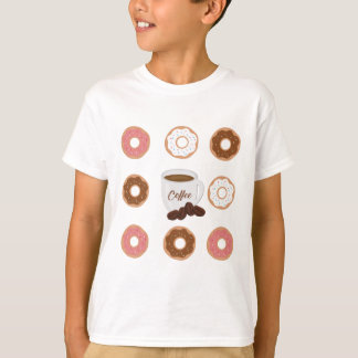 Coffee and Donuts Tote Bag T-Shirt