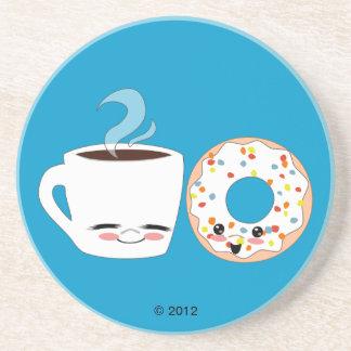 Coffee and Doughnut Pals Coaster