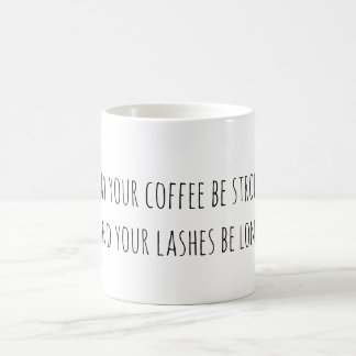 Coffee and Eyelash Coffee Mug