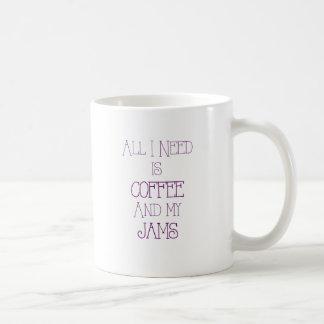 Coffee and My Jams2 Coffee Mug