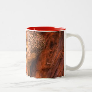 Coffee and nuts, go perfect together Squirrel mug