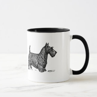 Coffee and Scottish Terriers are all I need mug