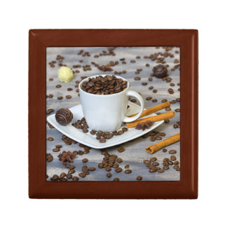 Coffee and spices gift box