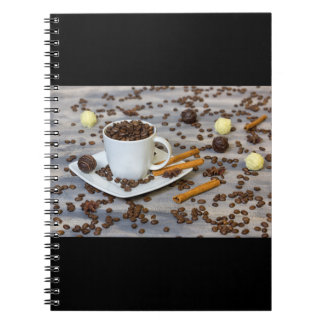 Coffee and spices notebook
