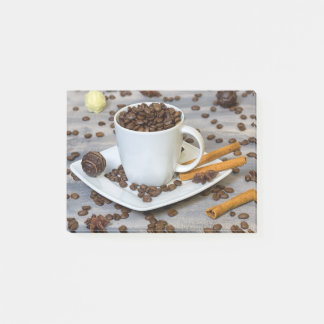 Coffee and spices post-it notes