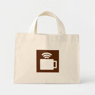 Coffee And Wi-Fi Tote Bags
