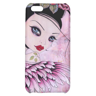 Coffee Angel  iPhone4 Cover For iPhone 5C