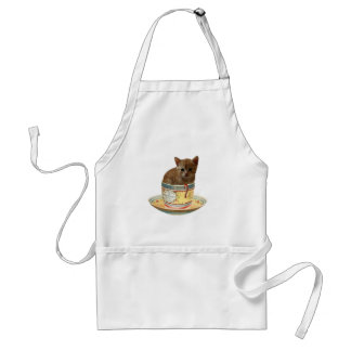 Coffee anyone? kitten apron