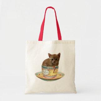 Coffee anyone? kitten bags
